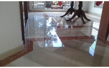 Cristalizado de Pisos de Marmol, Granito, Terrazo